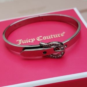 Juicy Couture Belt Buckle Bracelet